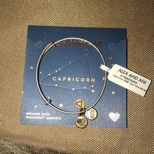 Brand New! Alex and Ani Capricorn Bracelet